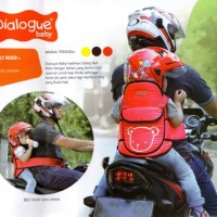Dialogue Safety Belt Rider+Raincoat / Sabuk Bonceng Motor + Jas Hujan