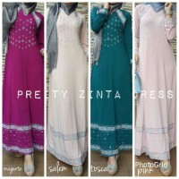Jual Gamis India Pretty zinta Dress bhn jersey Super uk M L XL XXL Murah