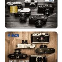 kartu bca flazz custom design kamera Leica camera