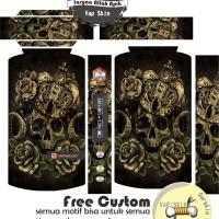 harga garskin vaporesso tarot PRO 160w motif skull7, motif bisa request Tokopedia.com