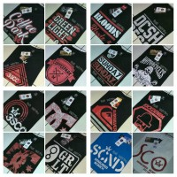 T-Shirt / Baju Kaos Distro Pria Termurah (3Seconds, Greenlight, dll)
