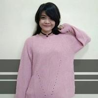 Harga atasan blouse wanita rajut murah ar23 pakaian baju korea bahan | antitipu.com