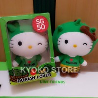harga Boneka Hello Kitty SG50 Durian Lover (Official McDonald) Tokopedia.com