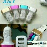 Saver charger mobil 3 usb