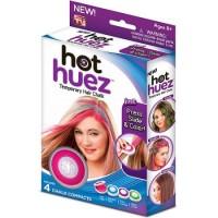 HOT HUEZ / HOT HUEST / Pewarna Rambut Temporary Tidak Permanen