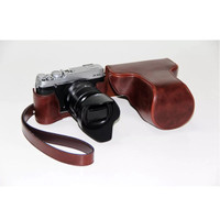 Camera Leather Case Bag Fujifilm X-E2 XE2 X-E1 XE1 tas Limited