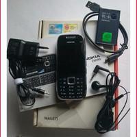 [Original] Nokia E75 Silver Black - Nokia Original - HP Nokia Jadul