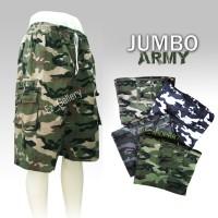 Jual Celana pendek / Motif Loreng / Jumbo Army Murah