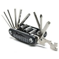 Multi-functional 15 in 1 EDC Repair Tool Stainless Steel