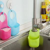 Gantungan Kran Wastafel Polos sabun cuci piring busa dapur serbaguna