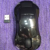 Car Mouse Wireless Mini LED Optical Mise 2,4Ghz 1600DPI 10m BLACK