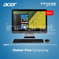 Acer Aspire C20-220 All In One PC (Dos)