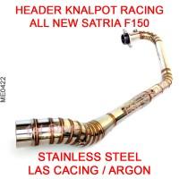 Header Pipa Knalpot Racing All New Satria F150 FU FI Injeksi Injection