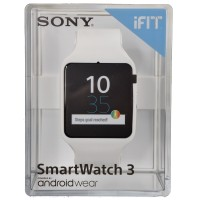 Jual Original Sony SmartWatch 3 SWR50 Rubber - WHITE Murah