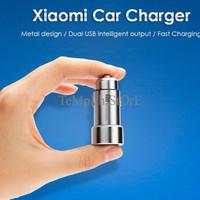 PALING DICARI Xiaomi Dual USB Metal Car Charger Original JAMINAN MUTU