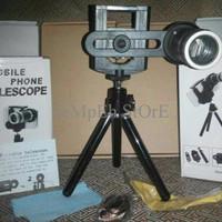 TERBAIK Universal Camera Lensa Telezoom 8x + Tripod+ Holder ALL type H
