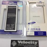 TER-HOT baterai batere Original samsung note 4 + Dekstop Charger samsu