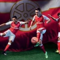 Kaos Kaki Bola Grade ORI Arsenal Home Official 2016-2017