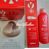 Yellow Hair Color 11.20 Super Hight Lift Violet Blonde 100 ML1