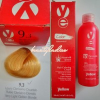 Yellow Hair Color 9.3 Very Light Golden Blonde 100 ML1