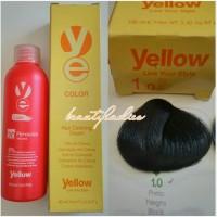 Yellow Hair Color 1.0 Black 100 ML1
