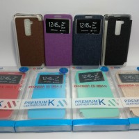 Sarung Flip Shell Cover Jelly Softcase LG G2