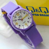 Jam Tangan perempuan ungu Q&Q VR41J QQ VR-41 bisa untuk remaja girly