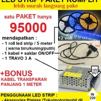 LED STRIP PAKET KOMPLIT
