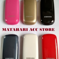 CASING FULL SET SAMSUNG E1272 / E 1272 BACK COVER/ BACKDOOR/ HOUSING