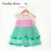 baju dress anak - Baby Satin Silk Tulle Gaun Pesta Anak ( AG 701 )