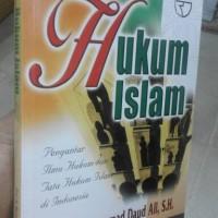 Hukum Islam Pengantar Ilmu Hukum dan Tata Hukum Islam di Indonedia