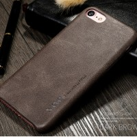 Softcase LEATHER iPhone 7 / Plus Case Soft Casing HP Back Cover Kulit