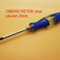 Obeng Ketok 8' (20 Cm) Mata PLUS (+)