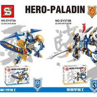 Lego Kw Nexo Knight Hero Paladin SY 575