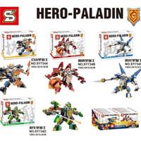 Lego Kw Nexo Knight Hero Paladin SY 734