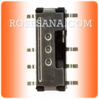 Switch Slide DP3T smd