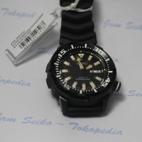 Seiko Automatic Divers Man 200M SRP231K1 Black Rubber SRP231 Jam Pria