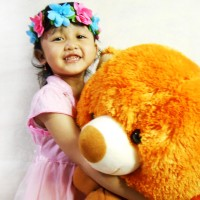 boneka beruang teddy bear jumbo 1 meter