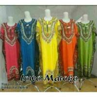 Jual daster lowo jumbo maroko/grosir batik murah pekalongan Murah
