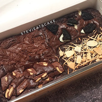 Brownies panggang toping luar biasa