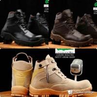 Jual Sepatu Boots Crocodile Cordura Delta Resleting Safety Pria Lacoste Murah