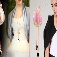 Jual kalung fashion korea import murah terbaru 007 Murah