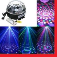 LED Magic Ball MP3 / Lampu DISCO Music Jamur MP3 Bola Musik