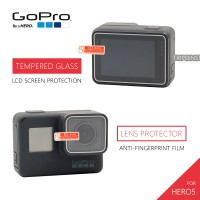 GoPro Hero 5 LCD Screen Tempered Glass + Lens Protector Film