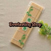 Bambu Sushi Mat Roller ( Bamboo ) Tirai Penggulung Kimbap