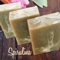 SPIRULINA NATURAL HANDMADE SOAP | SABUN ALAMI