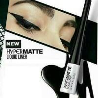 Maybelline Hyper Matte Liquid eye Liner cair mate Maybeline