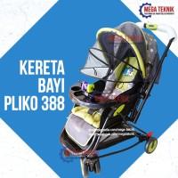 Kereta Dorong Baby Stroller Pliko 388 Perlengkapan Ibu Anak Bayi
