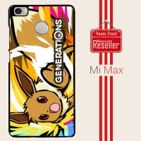 pokemon generations W3958 Xiaomi Mi Max Casing Premium Hardcase