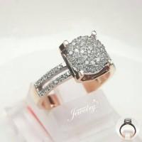 PROMO Cincin Emas 5,08 Gram Berlian Eropa 0,30 Carat Natural Diamond